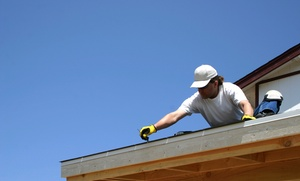 N.M.E. Builders and Designers: Roof-Maintenance or New-Roof Package from N.M.E. Builders & Designers (Up to 66% Off)