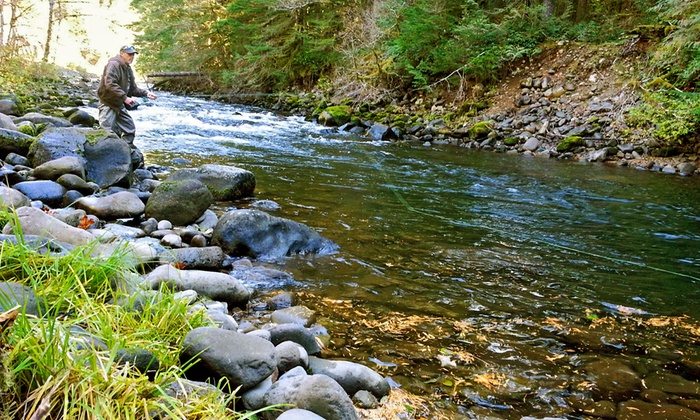 Henry Creek High Country Guides - Rhododendron: $169 for a Private Half-Day Fly Fishing Trip for Two from Henry Creek High Country Guides ($330 Value)