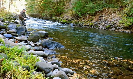 Portland: $169 for a Private Half-Day Fly Fishing Trip for Two from Henry Creek High Country Guides ($330 Value)