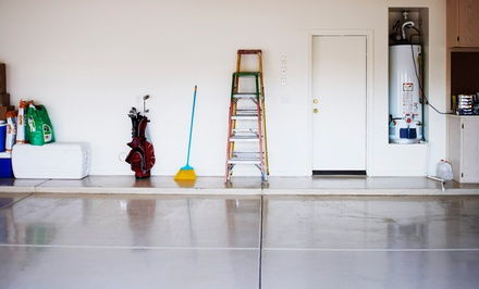 Cleaning and Power-Washing or Trash Removal for One-, Two-, or Three-Car Garage from Garage Groom (Up to 62% Off)