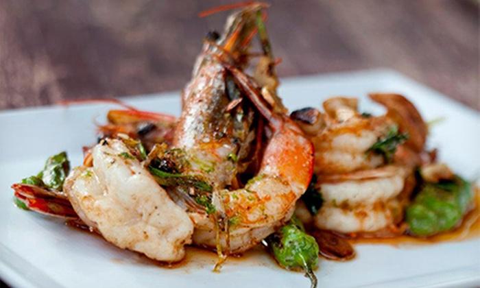 AltaMare Restaurant - City Center: Seafood Dinner for Two, Four, or Six at AltaMare Restaurant (Up to 60% Off)