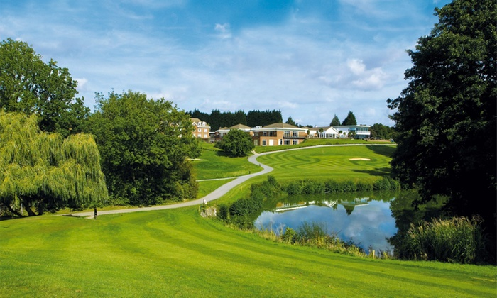 Stoke by Nayland Hotel Golf and Spa - Colchester: Colchester: 1 or 2 Nights for Two with Breakfast, Spa Access and Option for Wine at the 4* Stoke by Nayland Hotel