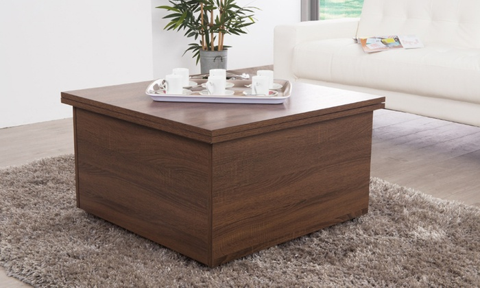 table basse relevable giani groupon shopping. Black Bedroom Furniture Sets. Home Design Ideas