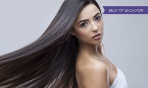 KC Salon or KC Beauty Academy: Keratin Treatment, or Japanese Hair-Straightening Treatment at KC Salon or KC Beauty Academy (Up to 70% Off)