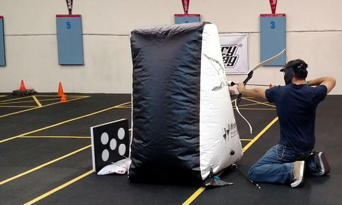 UpShot Archery - Inside Golden Sabre Academy: $65 for a 60-Minute Archery-Tag Game for Four at UpShot Archery ($100 Value)