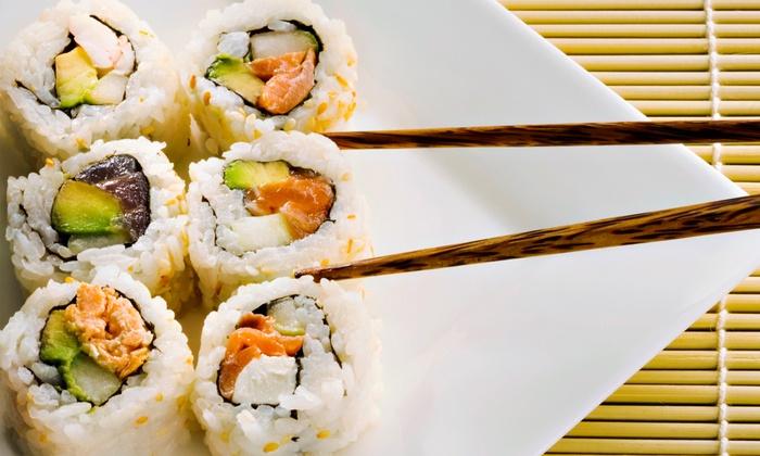 Ginza Japanese Restaurant - Cockeysville: Hibachi Cuisine or Sushi at Ginza Japanese Restaurant (Up to 50% Off).