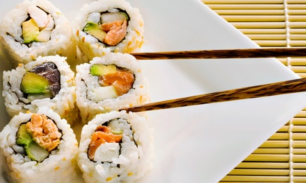 Hibachi Cuisine or Sushi at Ginza Japanese Restaurant (Up to 50% Off).