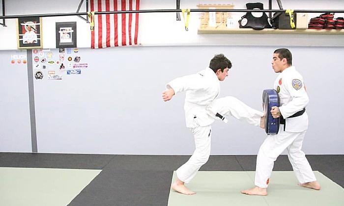Carlos Sapao Jiu Jitsu Self Defense - Outer Richmond: Intro to Boxing Course or Five or Ten Boxing Lessons at Carlos Sapao Jiu Jitsu Self Defense (Up to 60% Off)