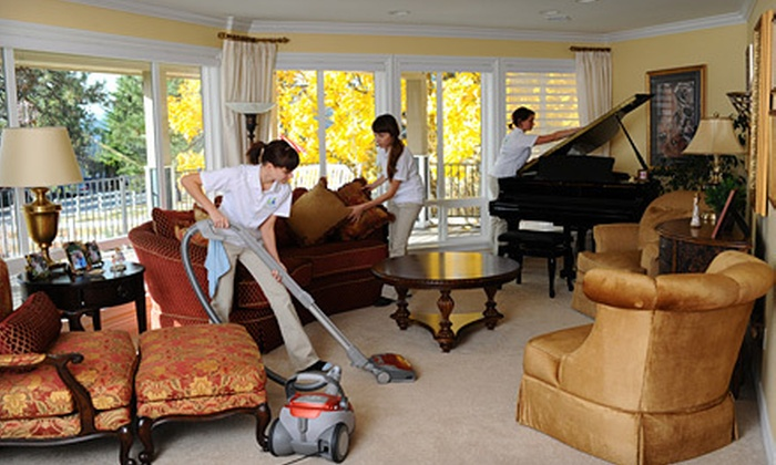 Live Clean Today - Spokane / Coeur d'Alene: $49 for Three Man Hours of Housecleaning Services from Live Clean Today ($120 Value)
