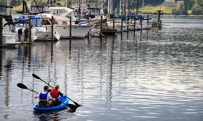 Northwest Boat Rentals and Adventures - Poulsbo: $24 for a Guided Wildlife Canoe Tour of Liberty Bay from Northwest Boat Rentals and Adventures in Poulsbo ($49.95 Value)