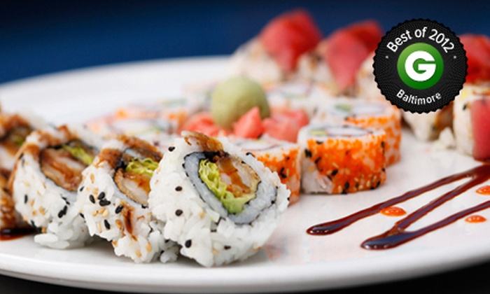 Tsunami - Annapolis: $20 for $40 Worth of Sushi and Asian-Fusion Cuisine at Tsunami