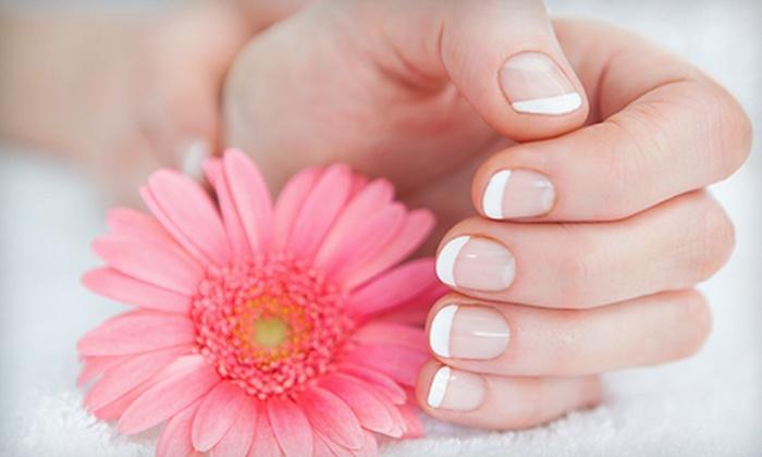 TM3 Hair Studio and Nail Salon - Victoria: Spa Gel-Polish Manicure and Optional Regular Pedicure at TM3 Hair Studio and Nail Salon (51% Off)