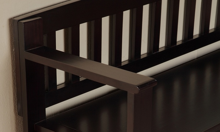 Astounding Brooklyn Entryway Storage Bench Groupon Goods Gmtry Best Dining Table And Chair Ideas Images Gmtryco