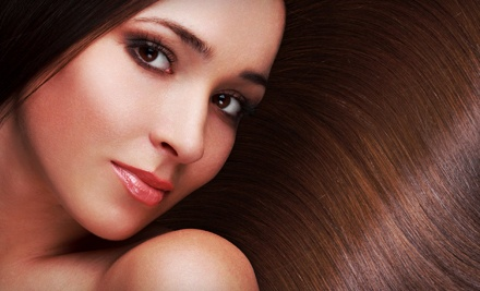 One Wash, Scalp Massage, Fragrance Application, and Blowout (a $50 value) - Heat  A Blow Dry Lounge in Tucson