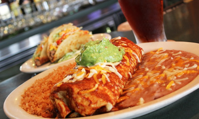 Super Mex - Multiple Locations: Mexican Food and Drinks at Super Mex (Half Off). Two Options Available.