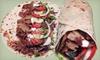 The kebab shop Mira Mesa - Rancho Bernadino: $7 for $14 Worth of Kebabs and Beverages at The Kebab Shop