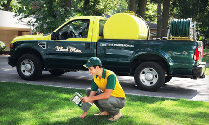 Weed Man - Victoria: Weed-Control-and-Fertilization Treatment from Weed Man (Up to 72% Off). Three Yard-Size Options Available.