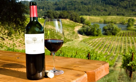 Wine-Tasting Package for Two or Four with Souvenir Glasses at Daveste' Vineyards (Half Off)