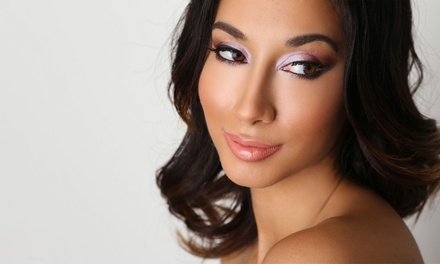 Makeup Application and Lashes or One-Hour Private Makeup Lesson from Vanity Ever After (Up to 50% Off)