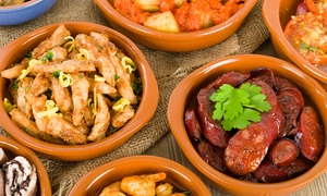 Locanta: Tapas For Two, Four or Six from £16.95 at Locanta (Up to 49% Off)