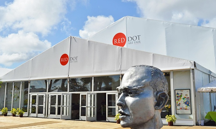 Red Dot Art Fair Miami - Red Dot Art Fair: One-Day Admission for One or Two or Weekly Admission for One or Two at Red Dot Art Fair (Up To 69% Off)
