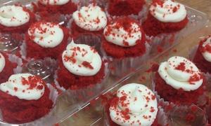 Sweet Sweet Sues Custom Cakes: One Dozen Cheesecake Bites and Drinks at Sweet Sweet Sues Custom Cakes & Cupcake Cafe (33% Off)