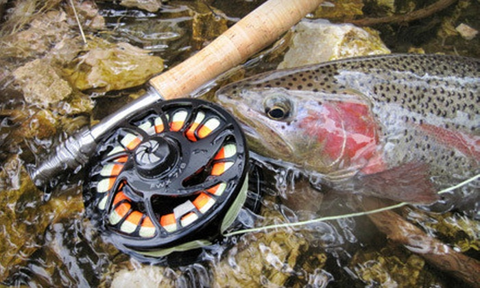Simply Fishing - Aspen: $129 for a Guided, Four-Hour Provo River Fly-Fishing Trip from Simply Fishing in Orem ($260 Value)