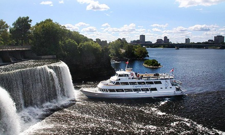 Sightseeing, Sunset, or Rock the River Cruise from Capital Cruises (Up to 50% Off). Multiple Dates Available.