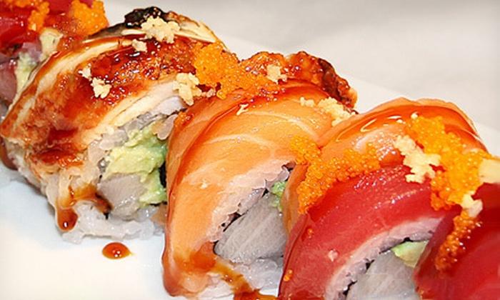 M Sushi Bar - Glendale: $10 for $20 Worth of Japanese Cuisine at M Sushi Bar