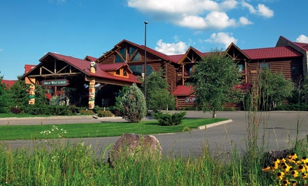 Stay with Daily Water Park Passes at Great Wolf Lodge Wisconsin Dells. Dates into February.