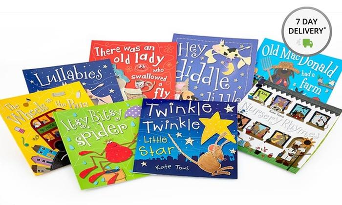 8-Book Children's Storybook Set: 8-Book Castle Street Press Children's Storybook Set by Kate Toms