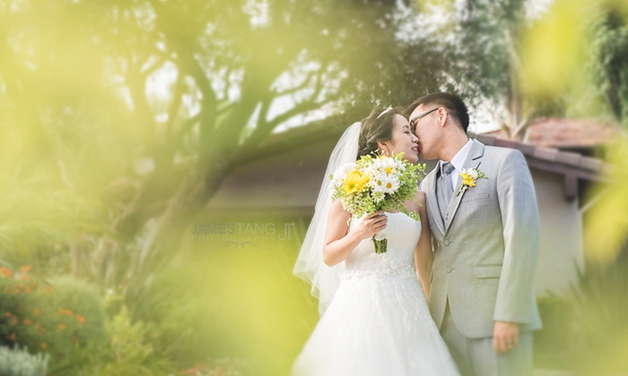 James Tang Photography - Fawnskin: Wedding Photography Session or Engagement Photography Session from James Tang Photography (Up to 58% Off)
