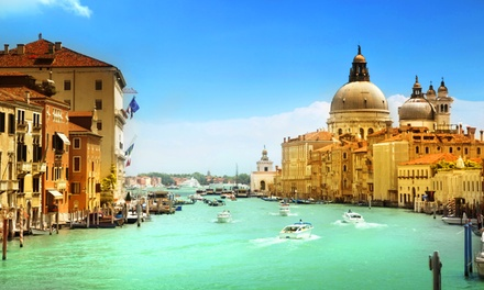 ✈ Venice: Up to 4 Nights at a Choice of Hotels with Return Flights and Option for Tour*