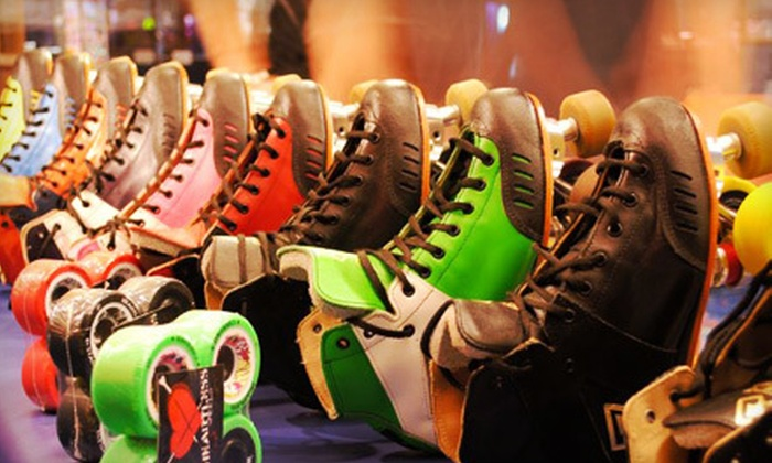 Car-Vel Skate Center - Leon Valley: Roller-Skating Package for Two or Four at Car-Vel Skate Center (Up to 60% Off)