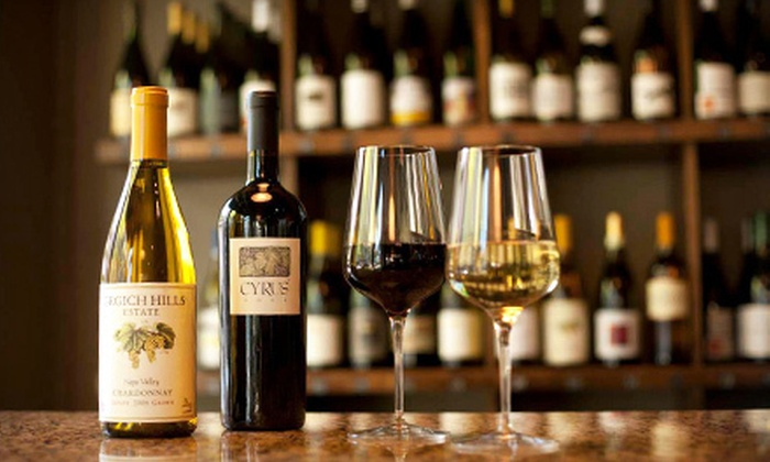 Nosh Wine Lounge - Old Market,Downtown: Gourmet Wine and Food for Two or Four at Nosh Wine Lounge (Up to Half Off)