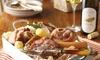 Spécialités alsaciennes ou Ch'ti et desserts au choix pour 2 personnes à 39,90 € au restaurant La Chti Alsace