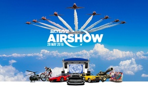 Skylive Airshow @ Durham Tees Valley Airport: Tickets to SkyLive Airshow, 28 May at Durham Tees Valley Airport