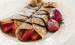 Aloha Crepes: $12 for $20 Toward Dessert Crepes and Snowflake Desserts at Aloha Crepes