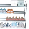 20-Pair Shoe-Organizer Shelf
