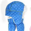 Rugged Bear Quilted Hats and Mitten Sets for Infants and Toddlers