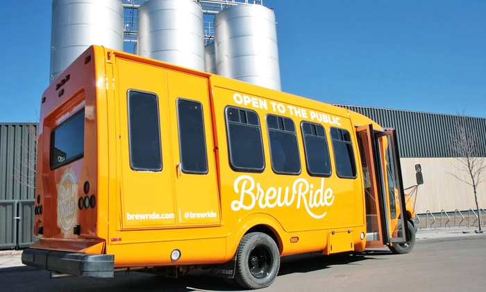 Brew Ride: Brewery Shuttle Service for One, Two, or Four from Brew Ride (50% Off)