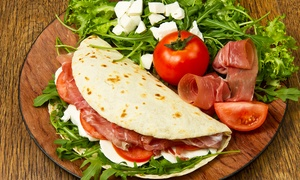Bar Pantagruel: 5 pranzi con piadina o insalata mista, bevanda e dolce