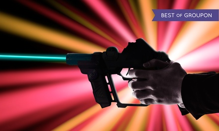 Two Games of Laser Tag for Two, Four, or Six at The Castle Laser Tag (Up to 45% Off)