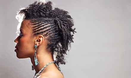 Partial or Full Sew-In or Marley Crochet Weave at Lady-B's African Hair Braiding and Weaving (Up to 57% Off)