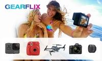 Wertgutschein über 20 € oder 40 € anrechenbar auf die Miete aller GoPros, Drohnen, Kameras und Gadgets bei Gearflix