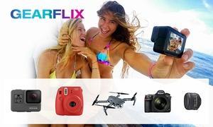 GEARFLIX: Wertgutschein über 20 € oder 40 € anrechenbar auf die Miete aller GoPros, Drohnen, Kameras und Gadgets bei Gearflix