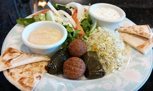Bella Balducci Mediterranean Cuisine: Meal for Two Including Drinks and Dessert at Bella Balducci Mediterranean Cuisine (Up to 38% Off)