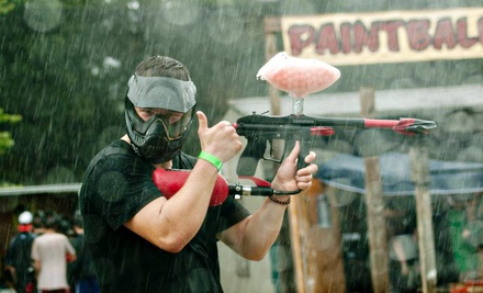 All-Day Paintball Package for Two or Four Including Equipment Rental and Paintballs at XZone (Up to 55% Off)