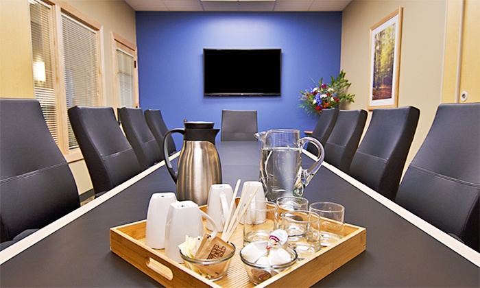 Intelligent Office (Denver Tech Center) - Denver Tech Center: Meeting-Room or Personal-Office Rental at Intelligent Office (Up to 58% Off). Six Options Available.