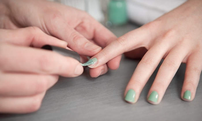 Milagros Salon Spa - Pike Place  Market: Spa Manicure with Optional Pedicure at Milagros Salon Spa (Up to 53% Off)
